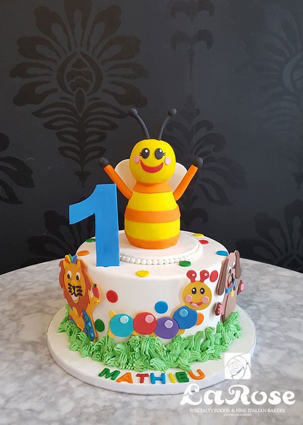 First Birthday Cake - Baby Einstein