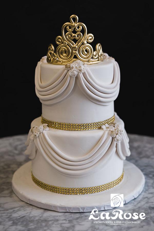 Girls Birthday Cake - Princess Tiara