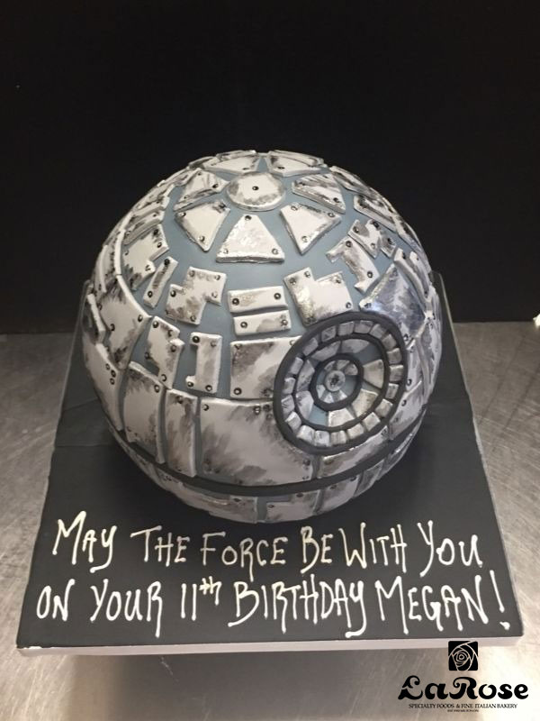 Death Star Birthday Cake