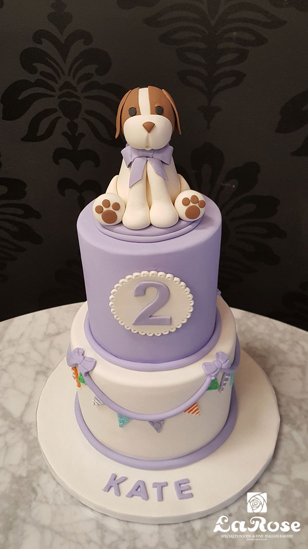 Kids Birthday Cake - Puppy