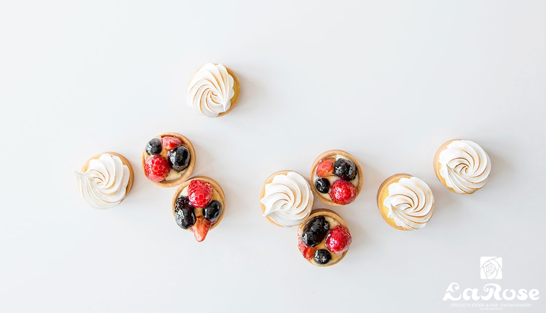 Tartlettes Lemon and Fruit