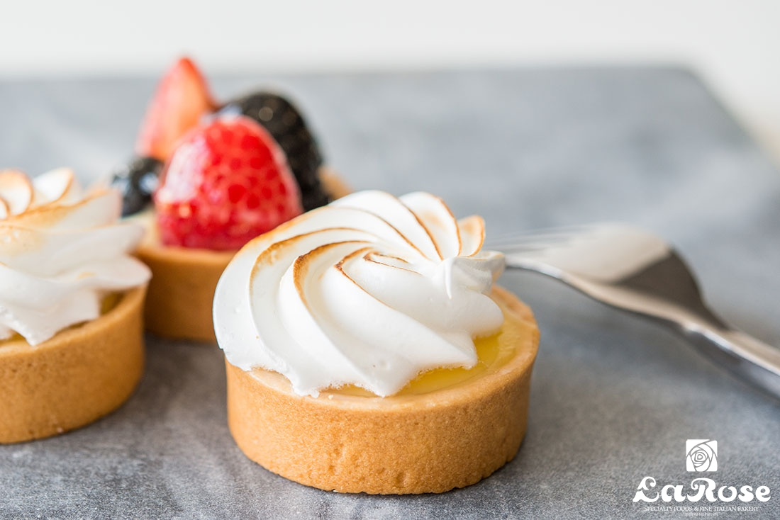 Fruit Meringue Tarts