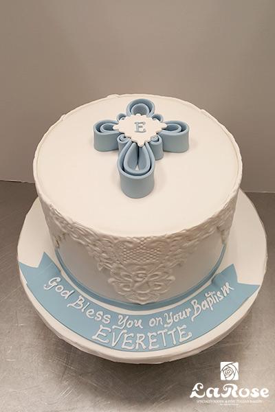 Religious cake designed by La Rose in Milton, ON