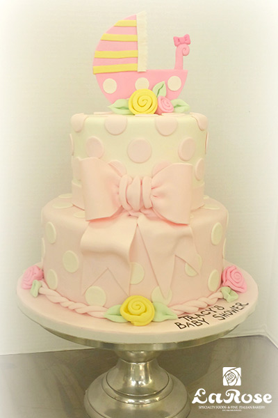 Showers And Anniversaries Cake Girl Big Bow Centre
