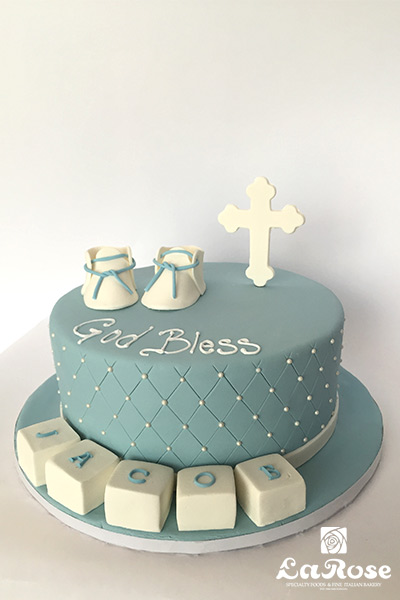 Confirmations cake by La Rose in Milton, ON