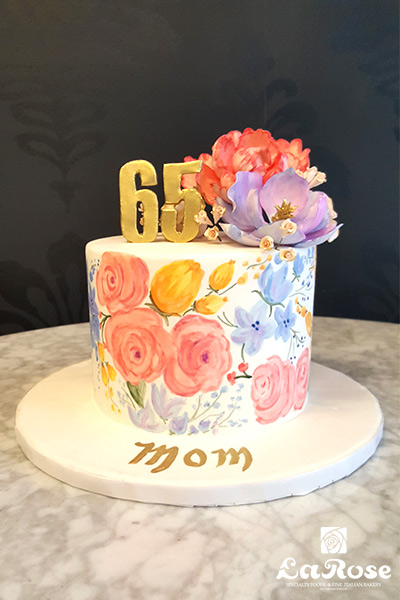 Custom Birthday Cakes by La Rose in Milton, ON