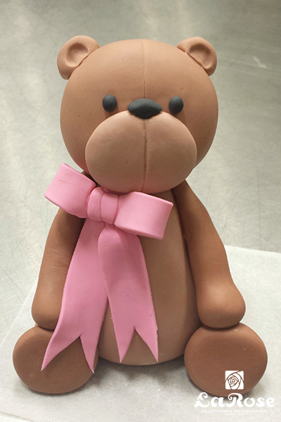 Modeled Teddy Bear Cake by La Rose in Milton, ON