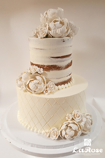 Best 2 tier cake by La Rose in Milton, ON