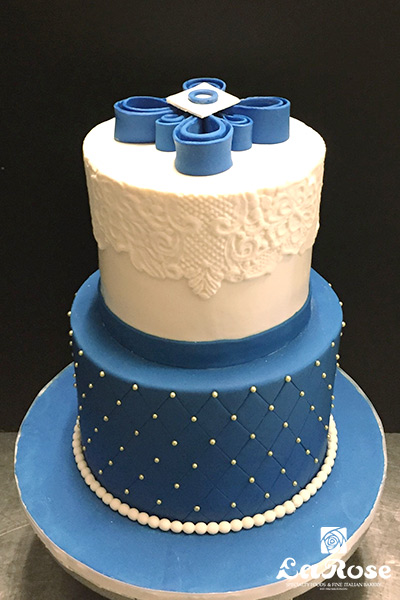 Baptism Communion Cake For Boy by La Rose in Milton, ON