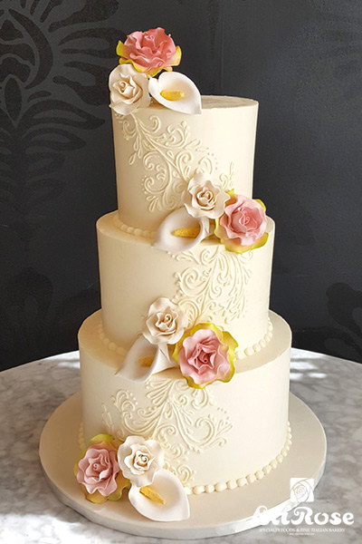 Buttercream Pied Cake by La Rose in Milton, ON