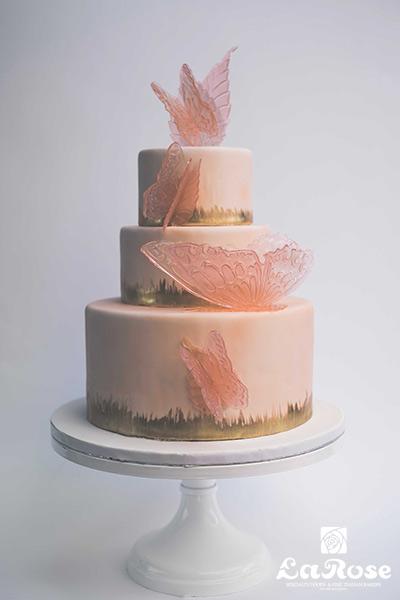 Cake flow Butterfly