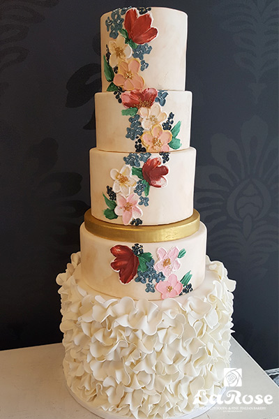 Latest Wedding Cake by La Rose in Milton, ON