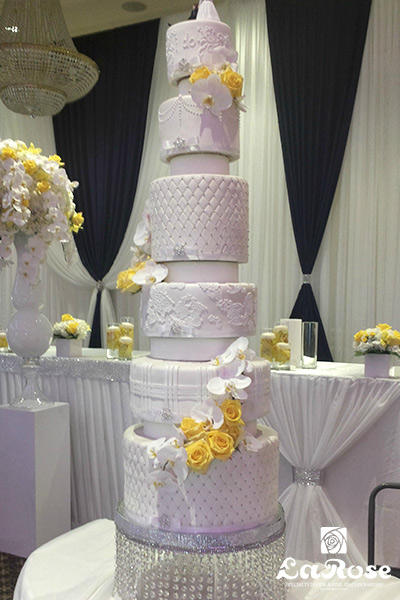 Seven Tiers Cake by La Rose in Milton, ON