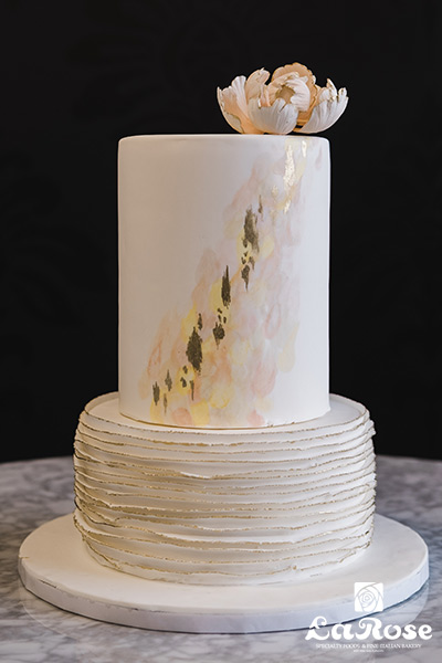 Wedding Cake by La Rose in Milton, ON