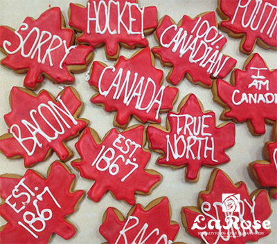 Cookies Canada Day Cookies