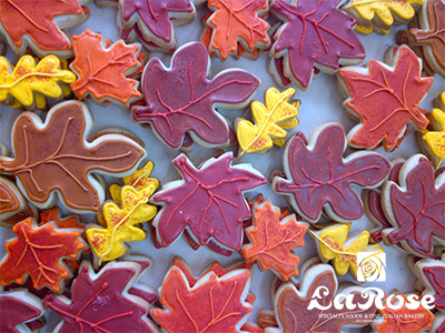Cookies Fall Leaves by La Rose in Milton, ON