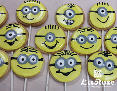 Cookies Minion Cookie Pops by La Rose in Milton, ON