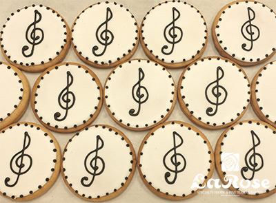 Cookies Treble Clef Music Cookies