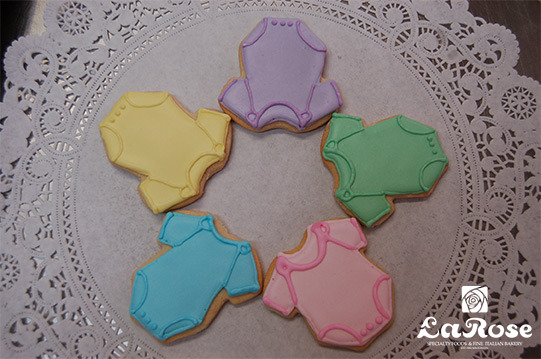 Colorful cookies by La Rose in Milton, ON