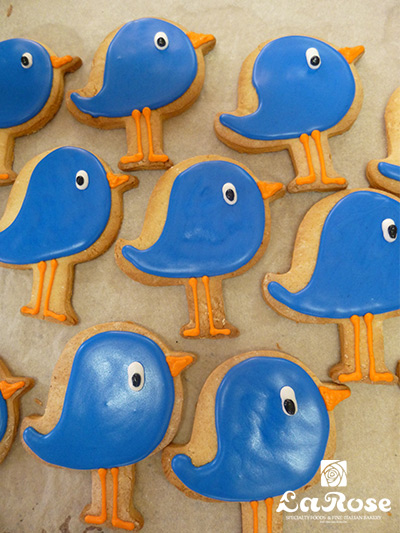 Bird cookies by La Rose in Milton, ON