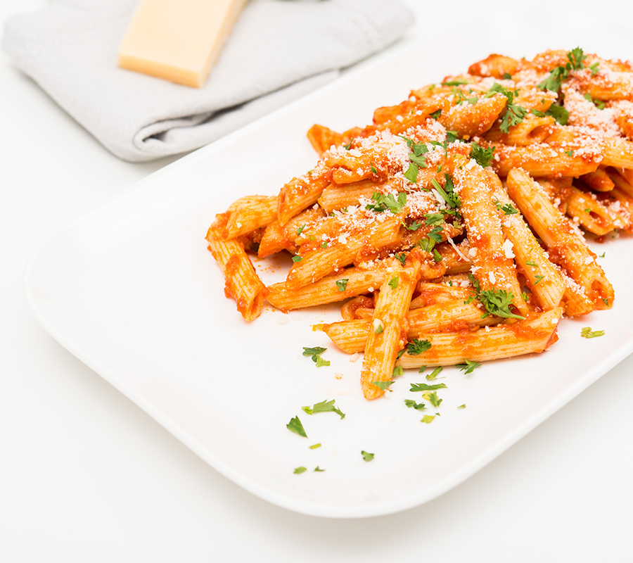 Penne Pasta Tomato Sauce by La Rose in Milton, ON