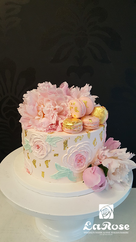 Decorative cupcake theme anniversary cake by La Rose in Milton, ON