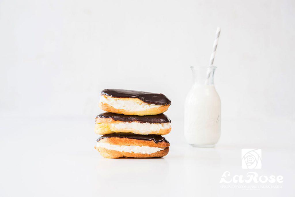 Belgian Chocolate Cream Eclairs