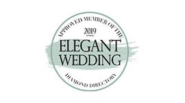 Elegant Wedding Diamond Directory Badges