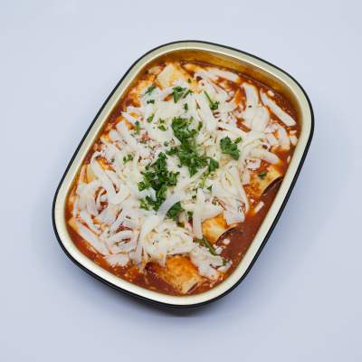 Spinach and Ricotta Manicotti La Rose